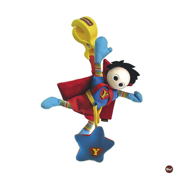Super Baby Boy Jittering Rattle